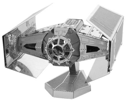 Star Wars Darth Vaders Tie Fighter Model Kit by Metal Earth